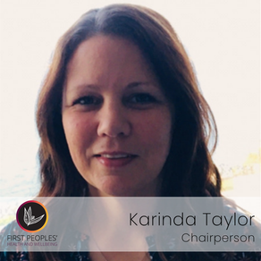 New Chairperson - Karinda Taylor