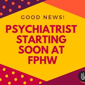Psychiatry starting next Thursday
