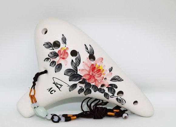 12 AC Stein Ocarina Porcelain
