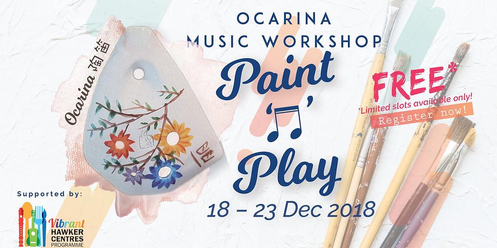 Paint 'N' Play Ocarina Workshop