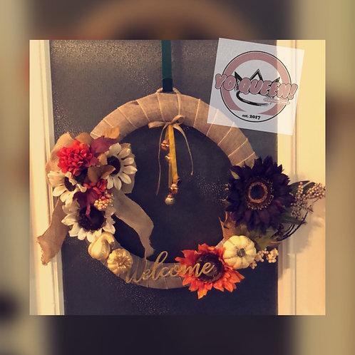 Customize Your Own Fall Wreaths