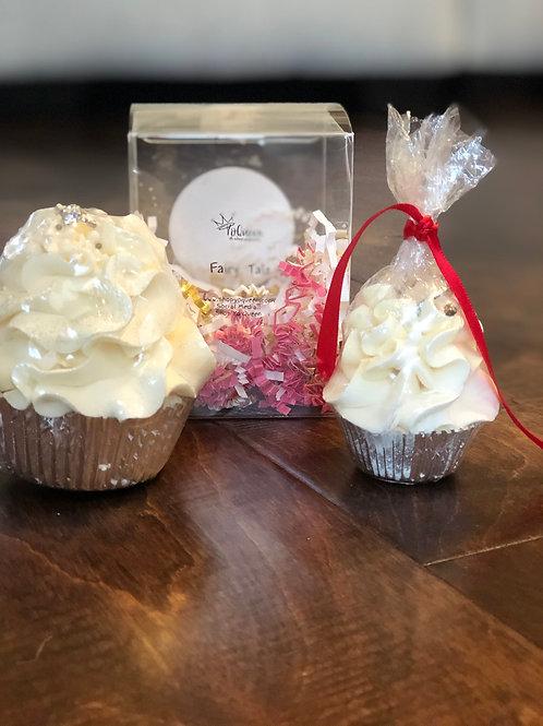 Fairytale Bath Bomb Cupcake