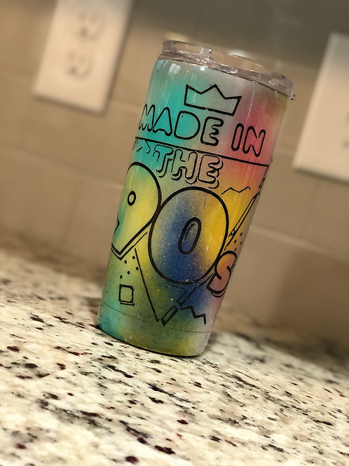 Made In The 90s 20oz Tumbler