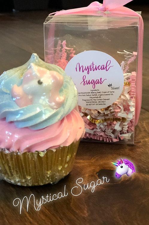 Mystical Sugar Bath Bomb Cupcake