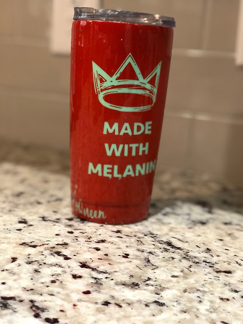 Made With Melanin 20oz Tumbler