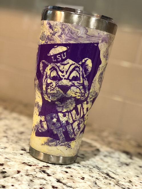LSU Tigers 30oz Tumbler