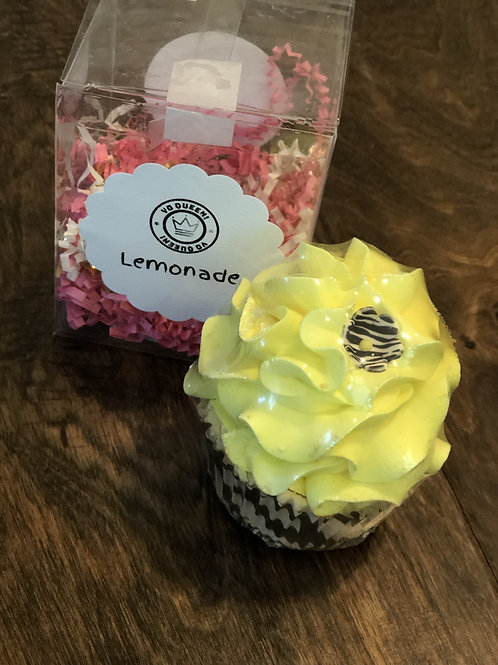 Lemonade Bath Bomb Cupcake