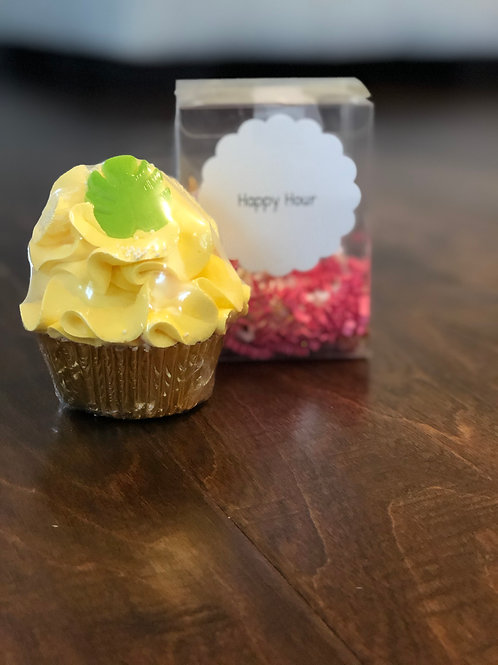 Happy Hour Bath Bomb Cupcake