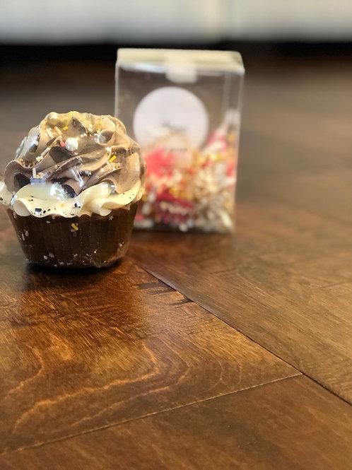 Cocoa Bath Bomb Cupcake