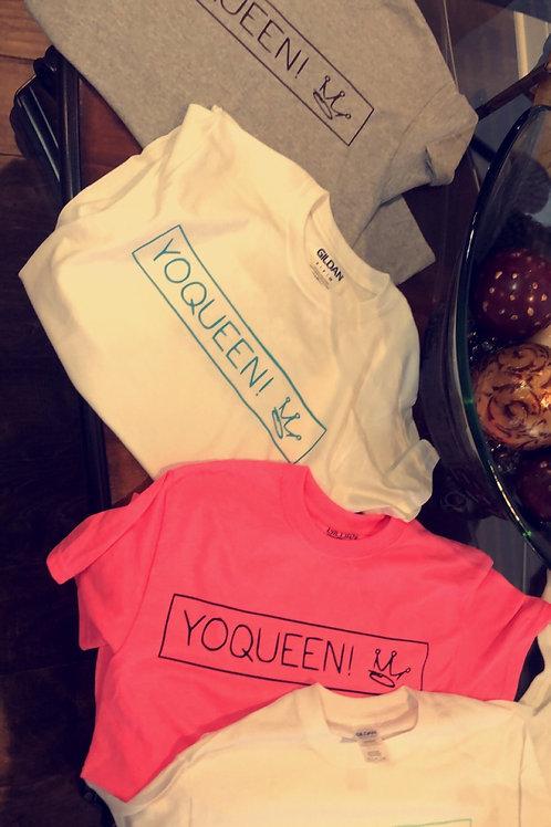 YoQueen Logo Tee
