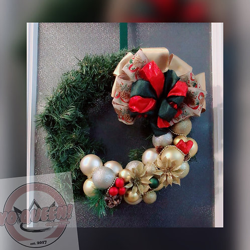Customize Your Own Christmas Wreath