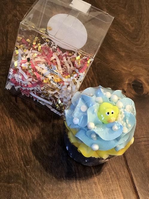 Rubber Ducky Bath Bomb Cupcake
