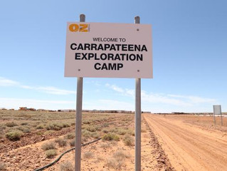 OZ Minerals To Move Ahead With South Australia's Carrapateena Copper-Gold Mine.
