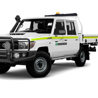 Dual Cab LandCruiser