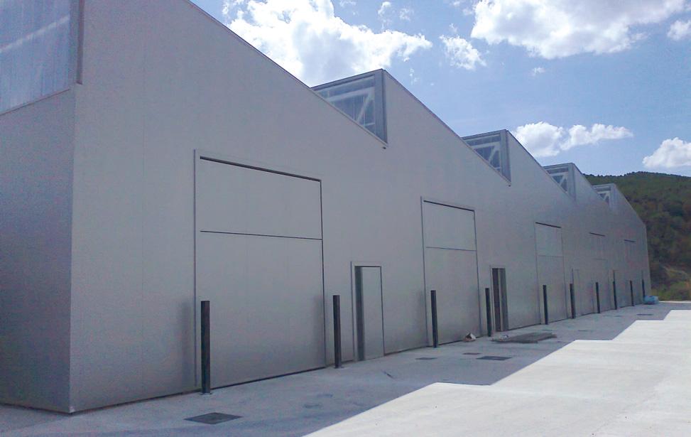 Isopainel de fachada PUR & PIR