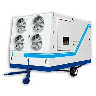 refrigeração industrial top cooler, equipamentos de refrigeração industrial, resfriamento de grãos, refri industrial