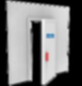 porta pra camara fra, porta giratoria, porta de correr, porta corrediça, porta seccional, porta doca, porta para sala limpa