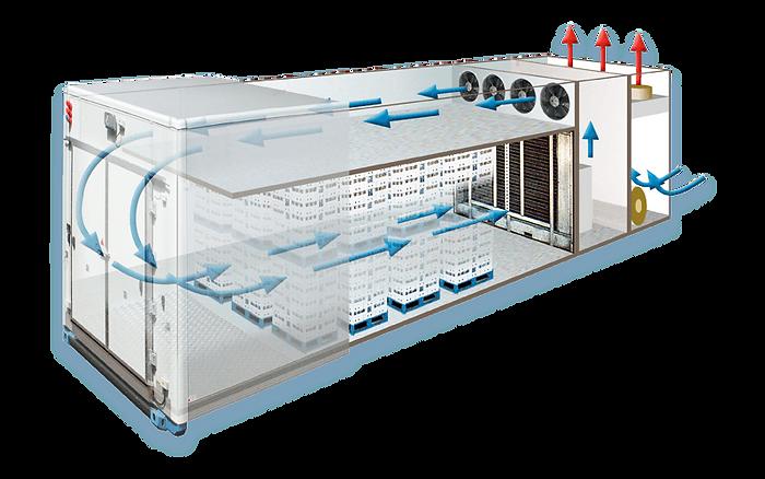 Túnel de Congelamento Rápido Top Cooler