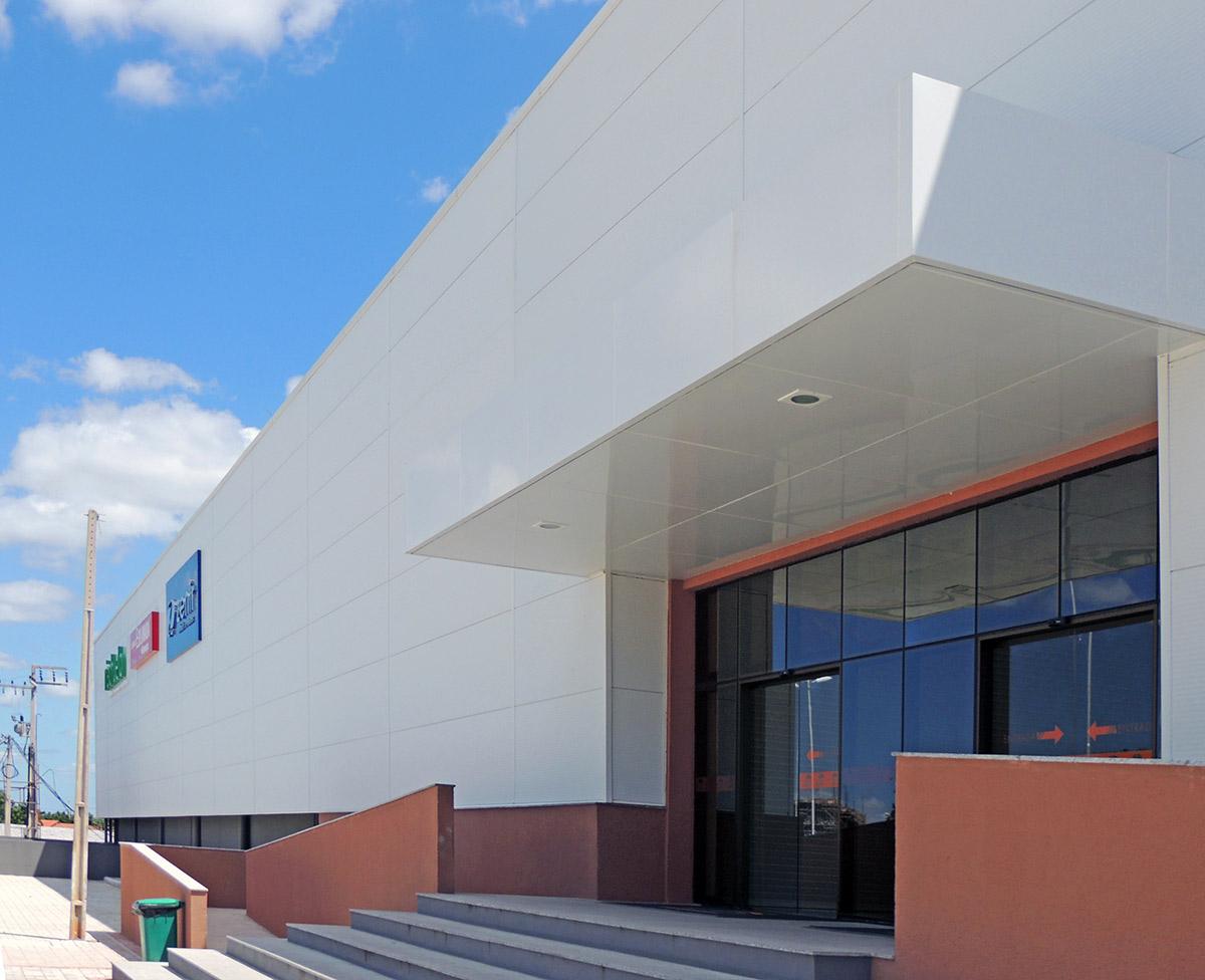 painel de fachada North Shopping (2)