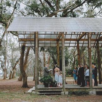 Outdoor wedding in Paradise