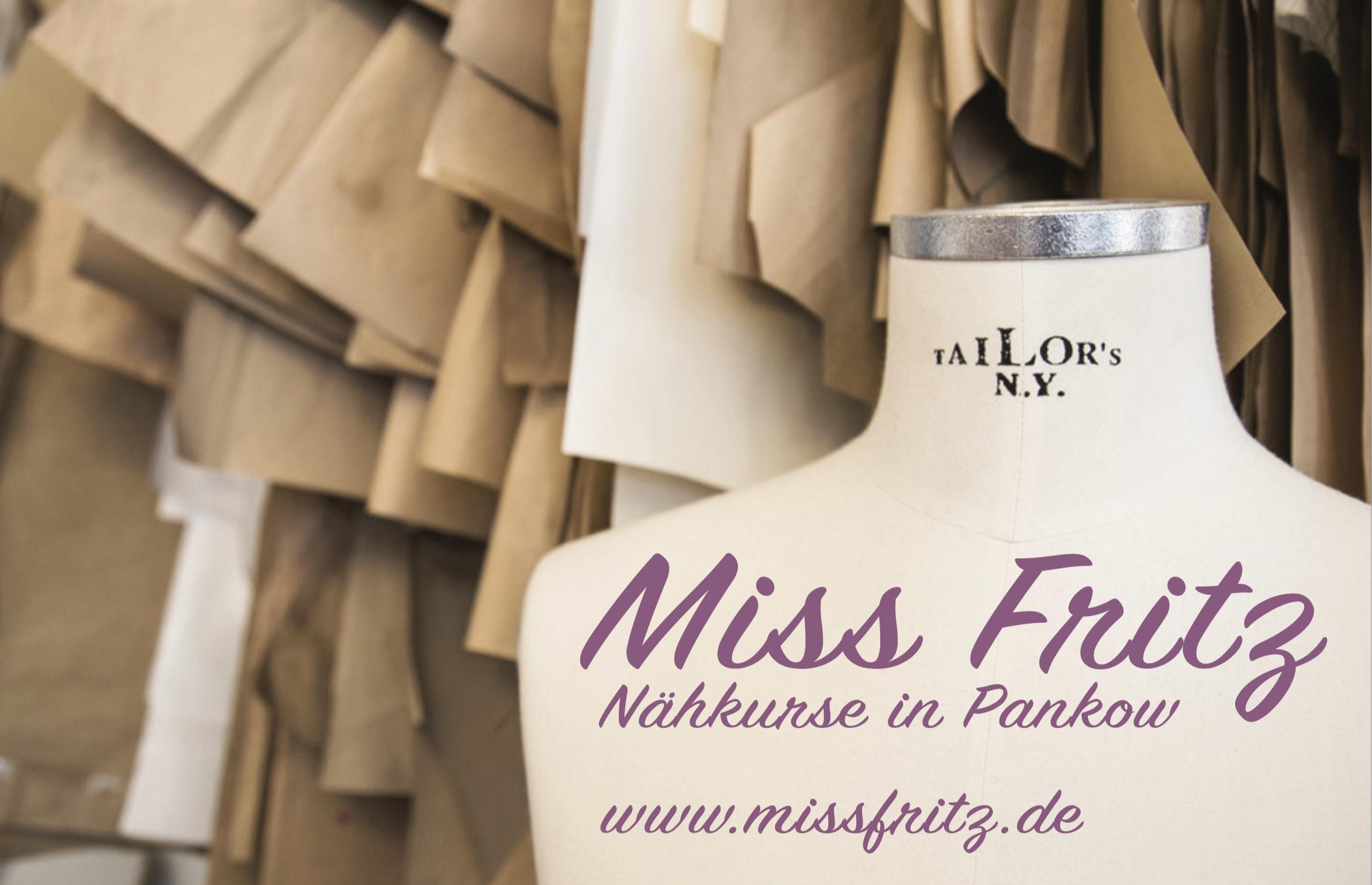 Miss Fritz Visitenkarte