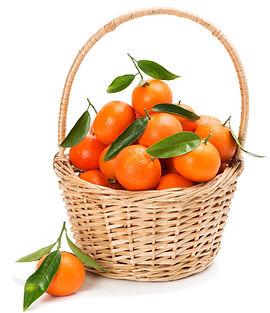 freshy picked mandarins