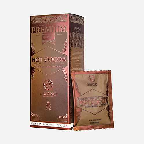 Organo Hot Chocolate with Ganoderma Mushroom Powder