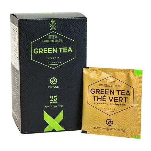 Organo Red (Rooibos) /or Green Tea with Ganoderma Mushroom Powder