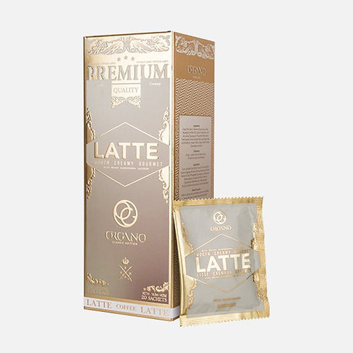 Organo Latte with Ganoderma Mushroom Powder