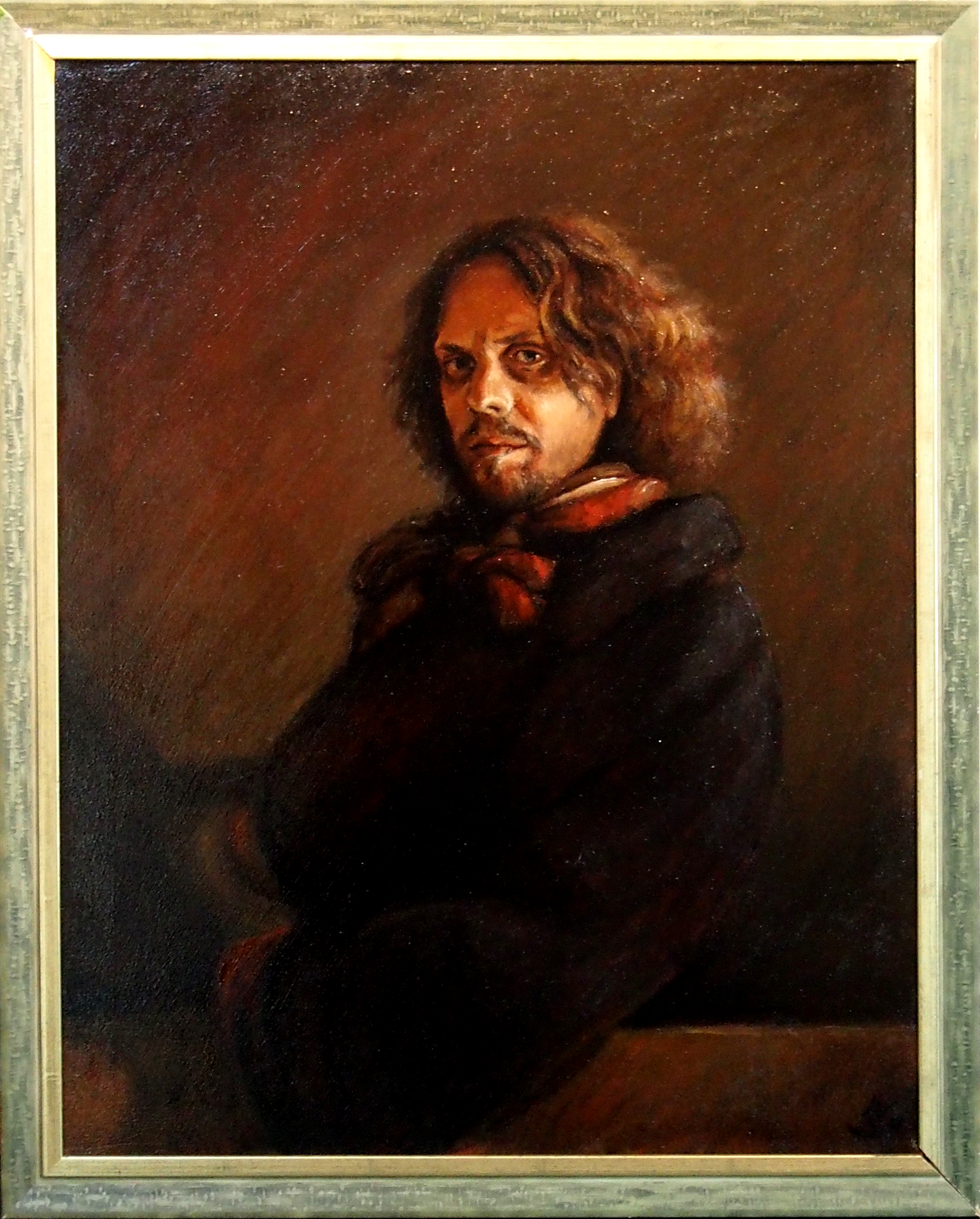 Self Portrait in Classical Pose