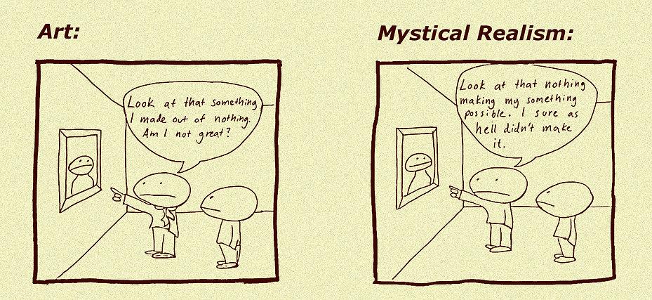 Mystical Realism cartoon