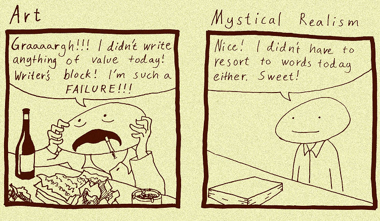 Mysical Realist Cartoon 3