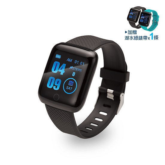 E-books V8 藍牙彩屏大錶面智慧手錶