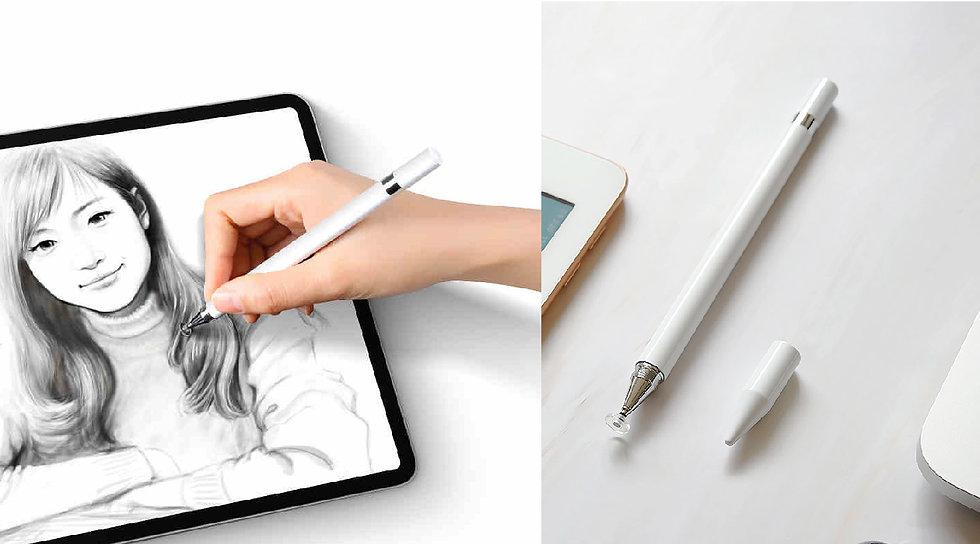 HOLiC TP208 PRO 360度 高感度 圓盤二合一 手寫繪圖 觸控筆