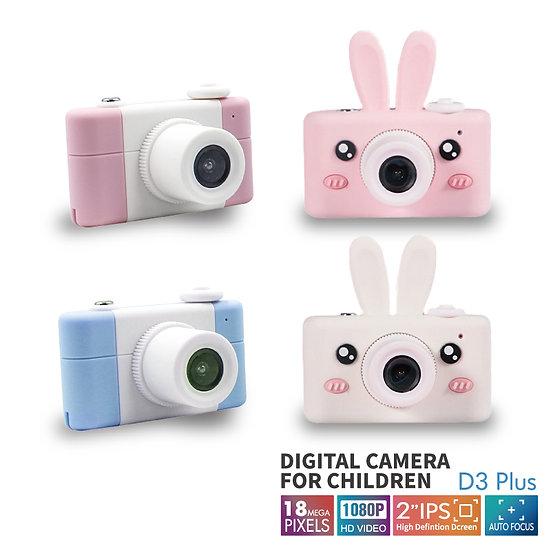 D3Plus 兒童相機1800w升級版 (卡通動物造型)