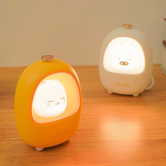 CStarLD33趣味寵物情境小夜燈(黃/白)
