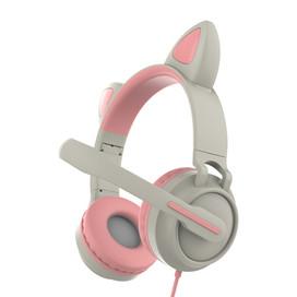 貓耳兩用頭戴式麥克風(5色)ZW-05