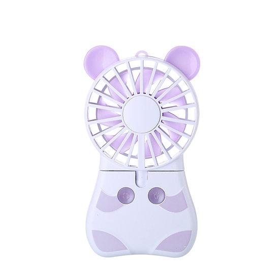 CStar FAN521 動物造型帶燈迷你小風扇
