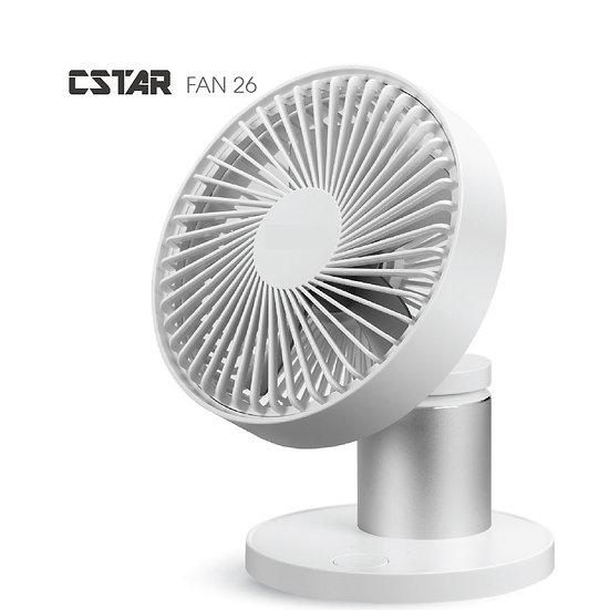 CStar FAN26 高質感自動旋轉擺頭風扇