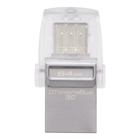 金士頓DataTraveler MicroDuo 3C Type-C 64GB