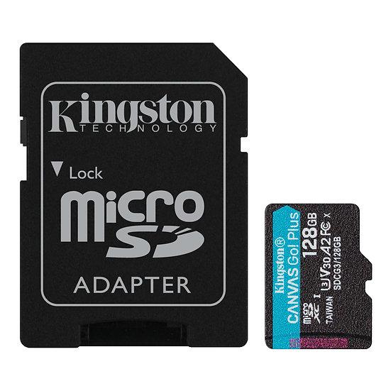 金士頓 Canvas Go!Plus microSD 記憶卡