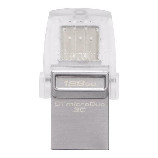 金士頓DataTraveler MicroDuo 3C Type-C 128GB