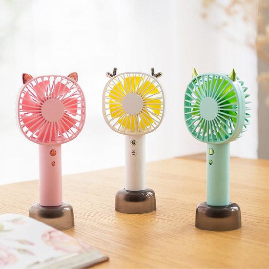 CStar FAN516 樂萌動物手持兩用帶夜燈風扇