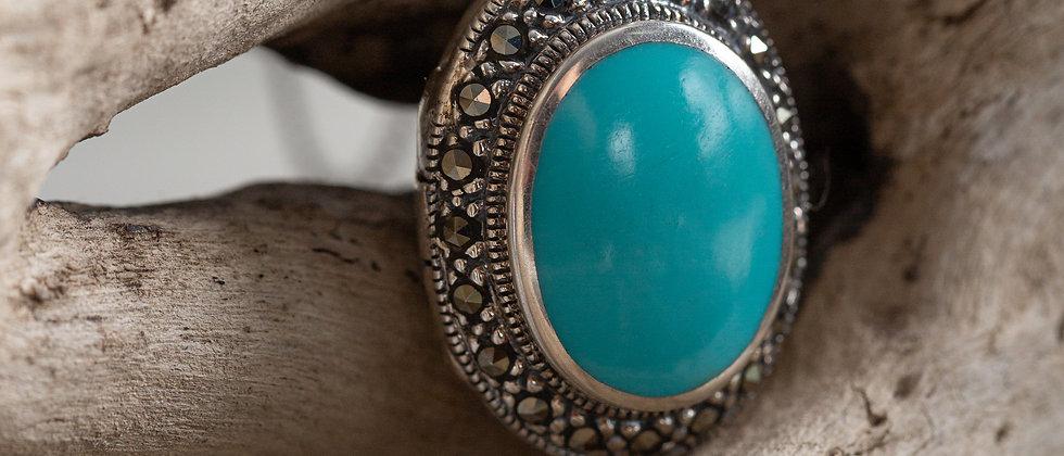 Torquoise locket