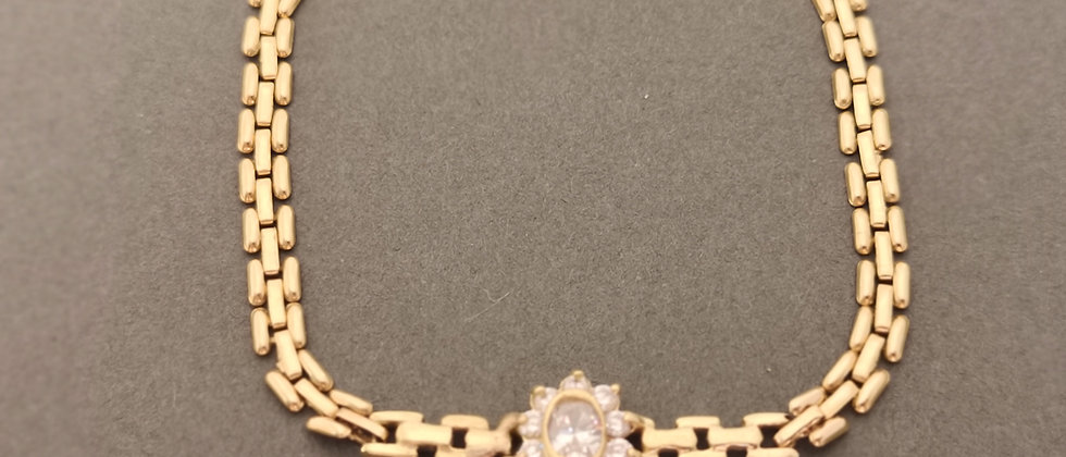 Gold dress bracelet