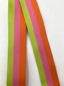 Neon Stripe Bag Strap