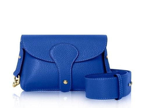Cobalt Chunky Strap Bag
