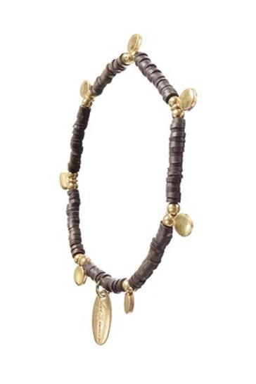 Cocoa Bean Beaded Bracelet
