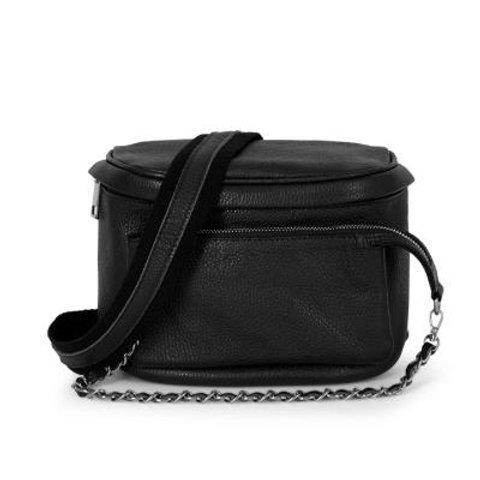 Black Pouch Crossbody Bag