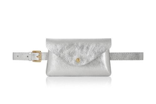 Silver Belt/ Crossbody Bag